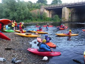 Pool to River Paddling – session for winter pool paddlers
